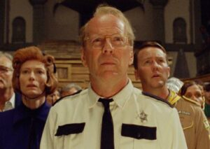Bruce Willis dans Moonrise Kingdom