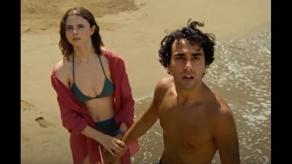 torse nu sur la plage