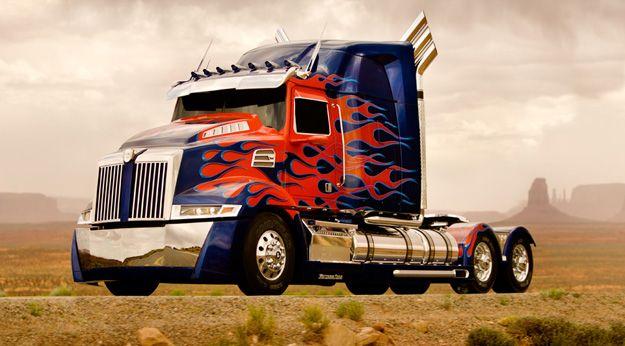 Optimus prime dans TF4