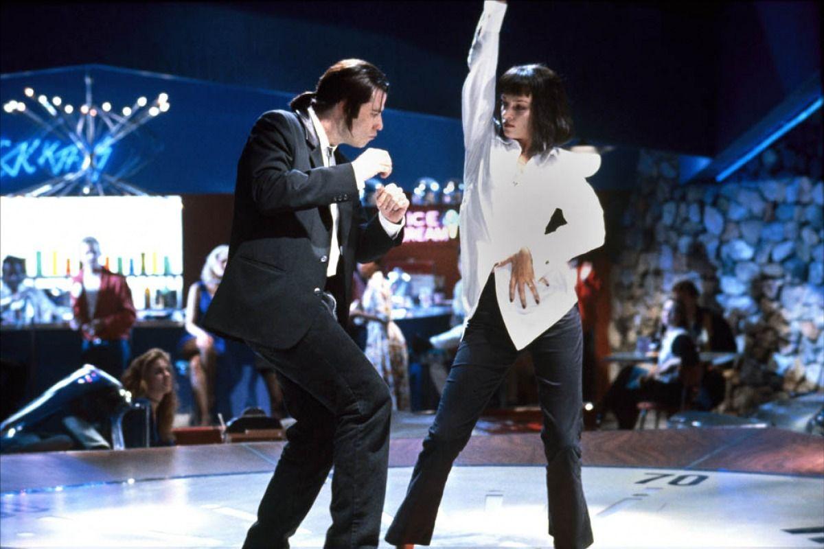 Scène de danse dans Pulp Fiction