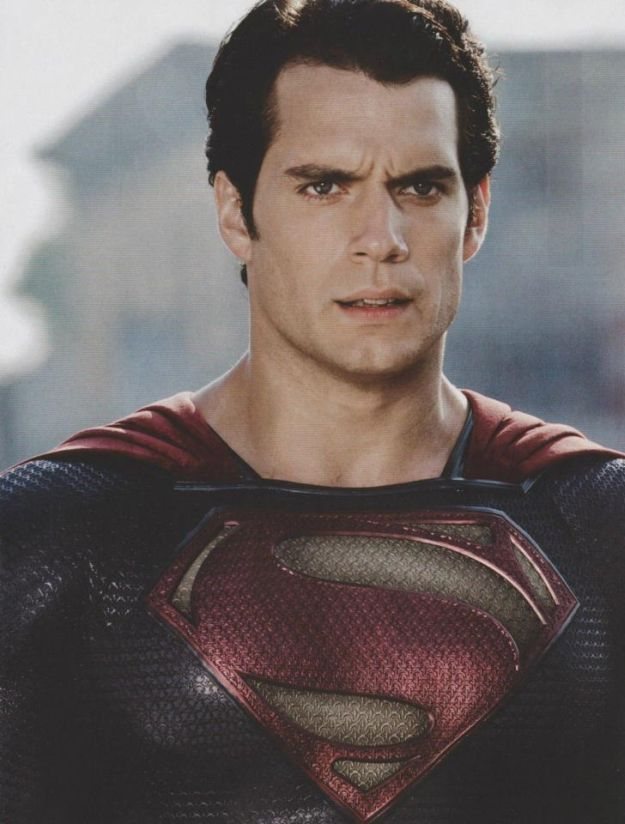 Henry Cavill dans Man of Steel