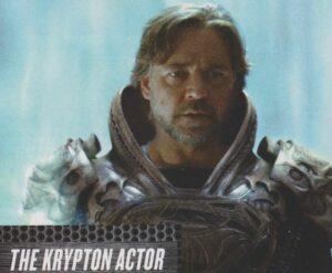 Russel Crowe dans Man Of Steel