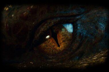 L'oeil du dragon Smaug
