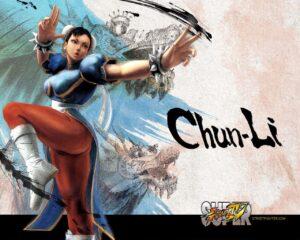 Chun Li sexy