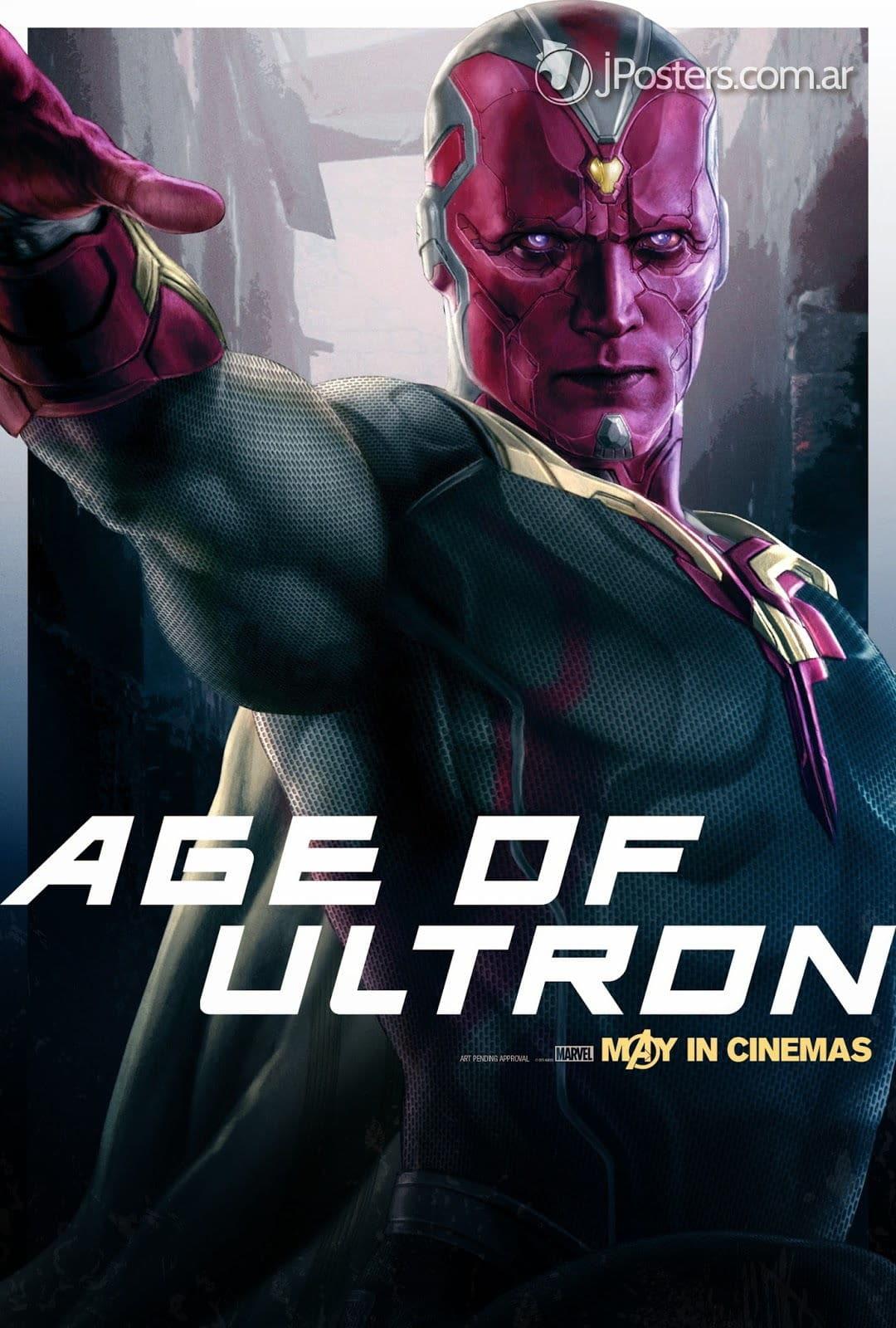 Vision dans Avengers Age Of Ultron
