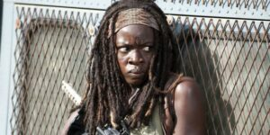 Michonne dans The walking dead