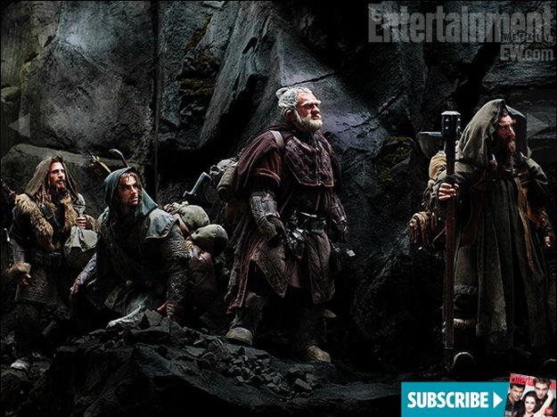 Les nains dans The Hobbit