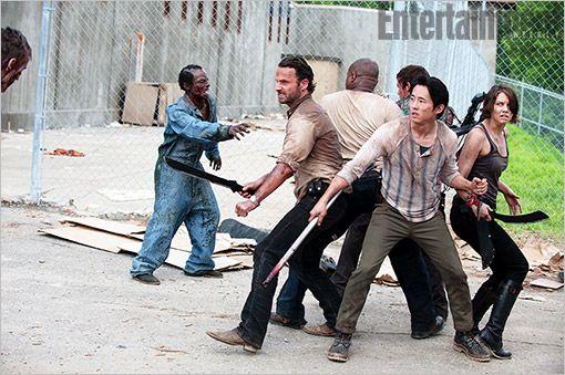 La prison de The Walking Dead