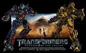 Transformers 2, le fond d'écran