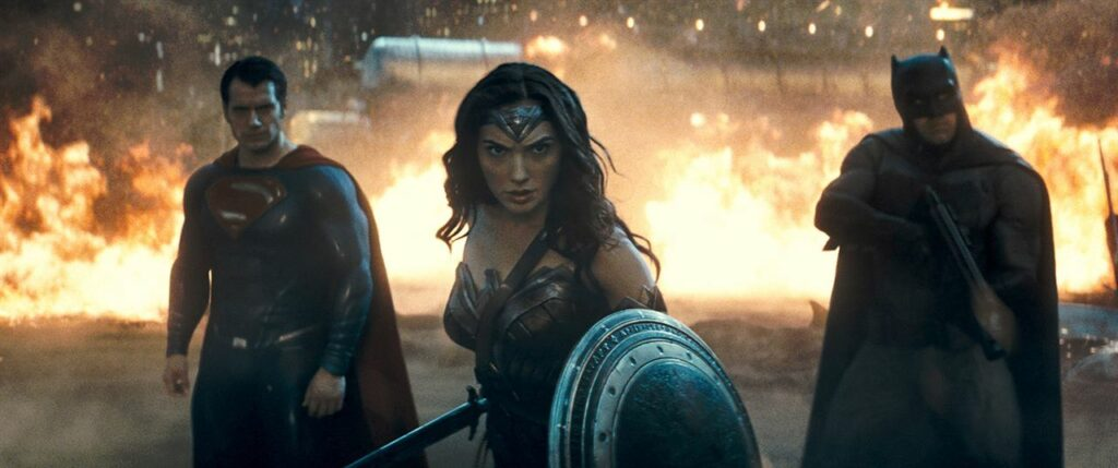 Superman, wonder woman et Batman enfin réunis sur grand écran