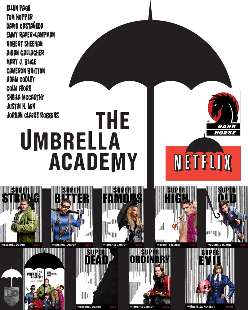 umbrella academy cover