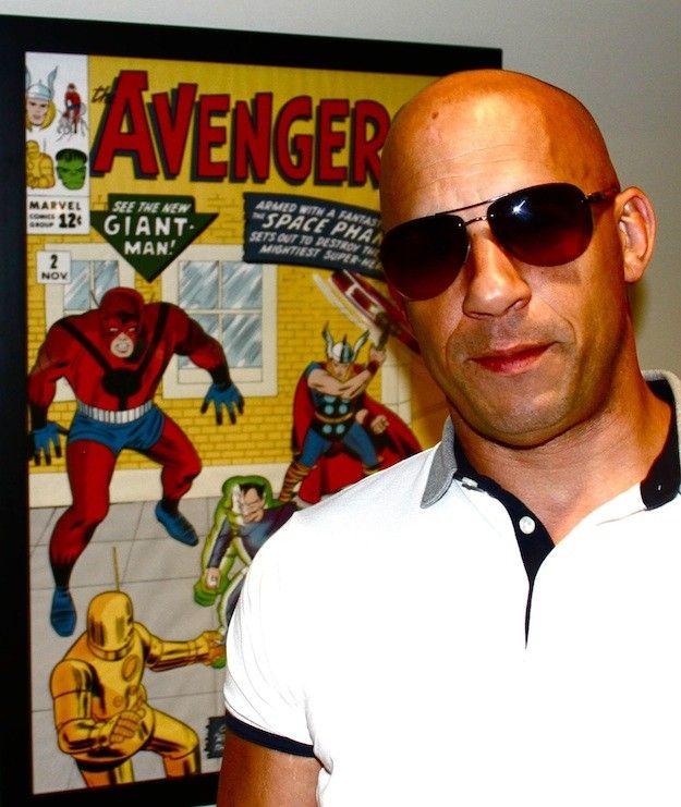 Vin Diesel Avengers