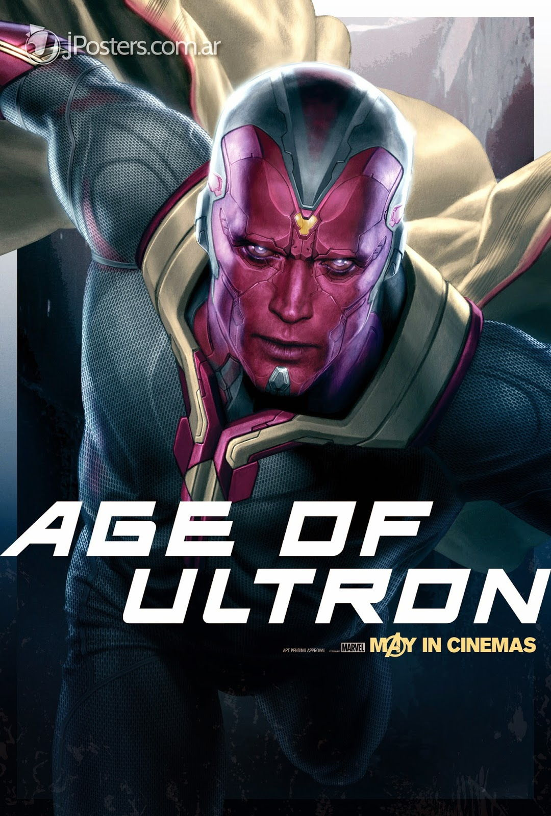 The vision dans Avengers 2