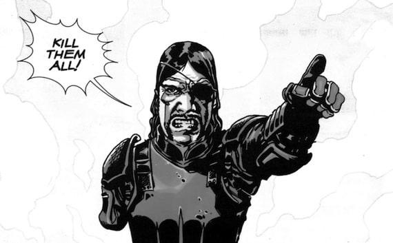 Le gouverneur dans The Walking Dead