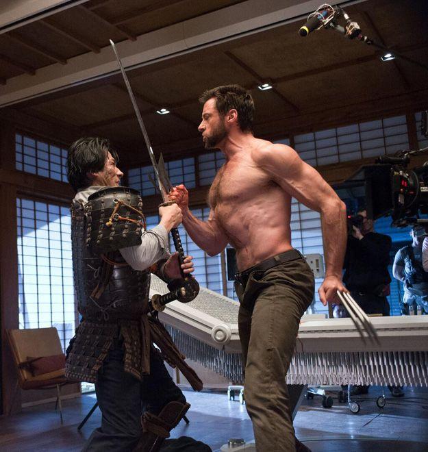 Wolverine sur le tournage